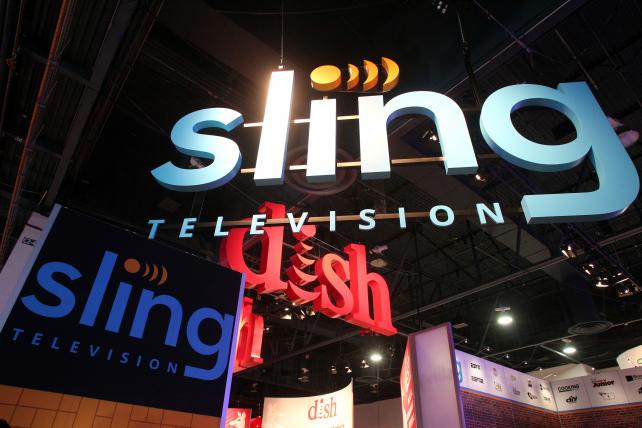 The Dish Networks and Sling Television activation at CES 2017.