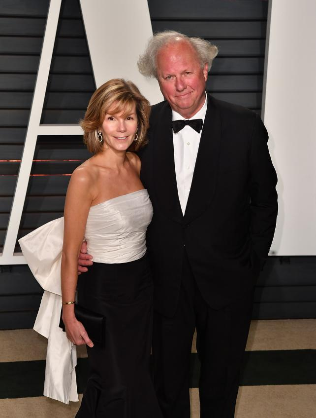 Graydon Carter with his wife Anna Scott at the Wallis Annenberg Center for the Performing Arts on February 26, 2017 in Beverly Hills, Calif.