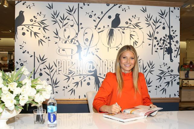 Gwyneth Paltrow attends a book signing at a 'Goop-in@Nordstrom' at The Grove on June 8 in Los Angeles.