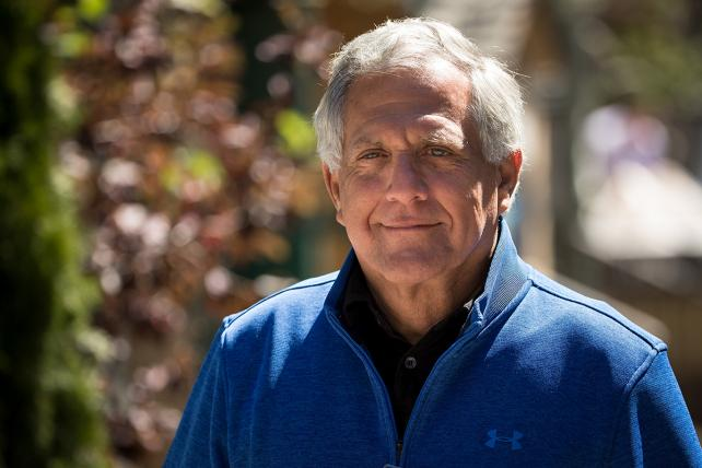 Les Moonves, president and chief executive officer of CBS Corporation.