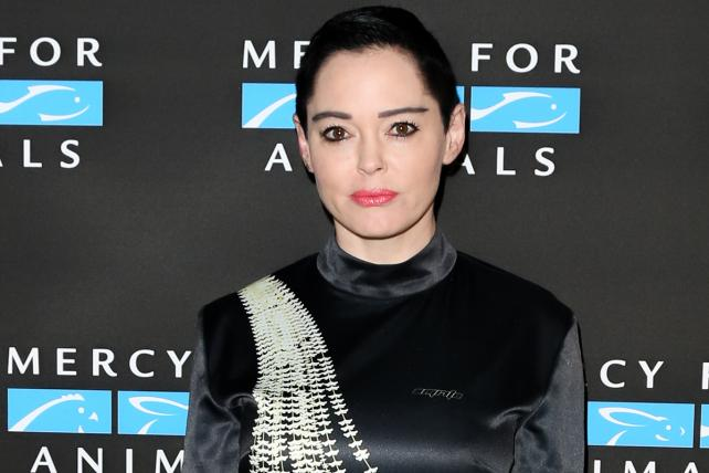 Rose McGowan called on her 'Rose army' to help her spread her messages once Twitter suspended her account.