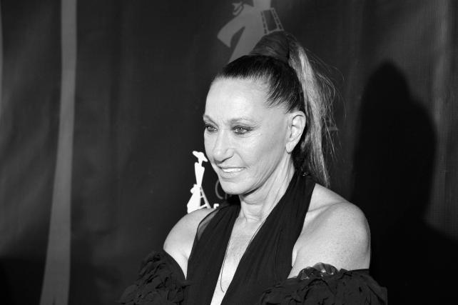 Fashion designer Donna Karan attends the 4th Annual CineFashion Film Awards at El Capitan Theatre on Oct. 8, 2017 in Los Angeles.
