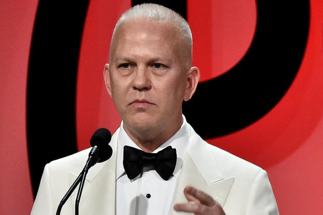 Ryan Murphy on stage at the 29th Annual Producers Guild Awards in Beverly Hills on Jan. 20.