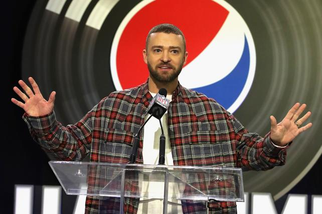 Justin Timberlake, like many Super Bowl performers, will likely see a spike in streams of his songs on Spotify.