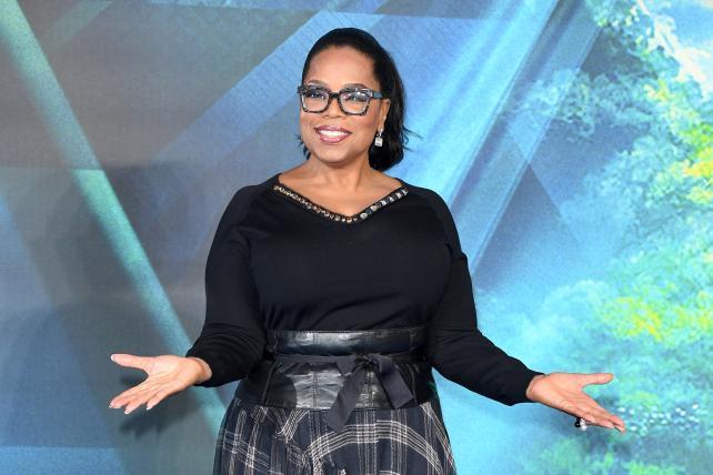 Oprah, Apple. Apple, Oprah.