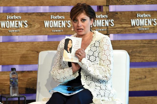 Bartiromo at the Fighting for Freedom panel at the 2018 Forbes Women's Summit last month in New York City.