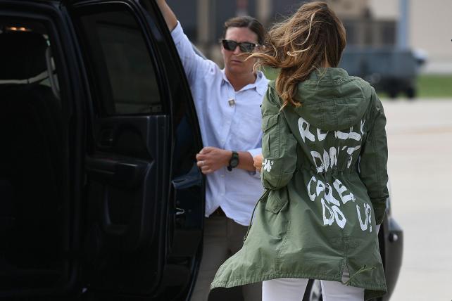 Melania Trump's jacket stunt thrusts Zara into the spotlight