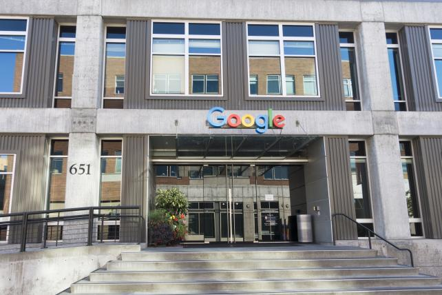 The Google Alphabet Technology Corporation building in seattle.