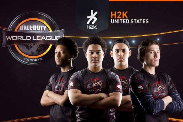 The 'Call of Duty' World League's H2K Team.