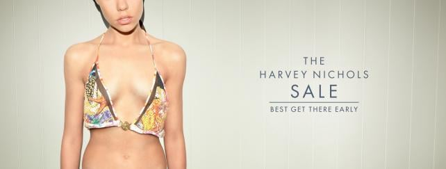 Harvey Nichols' new campaign encourages shoppers to arrive in time to find the right fit.