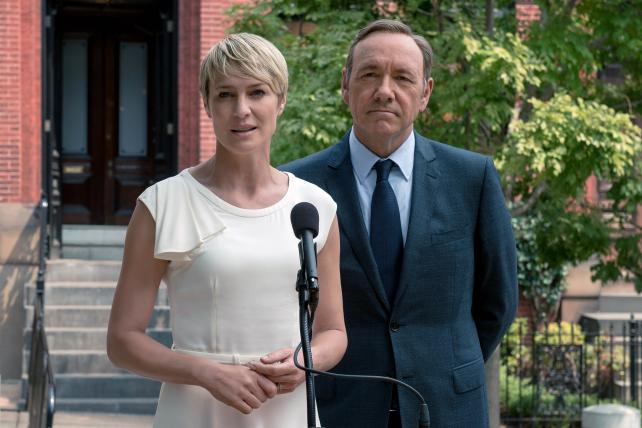From the Netflix original series 'House of Cards,' partly a product of diving into data.