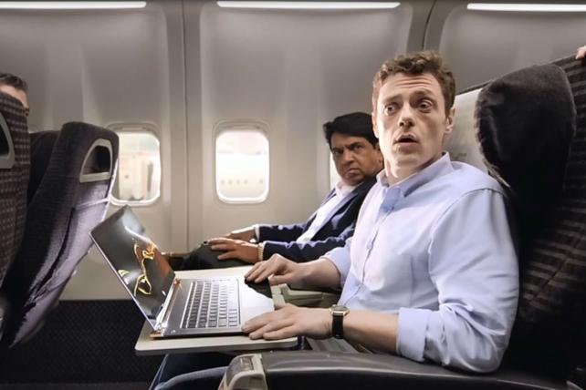 HP spots for its Spectre laptop.