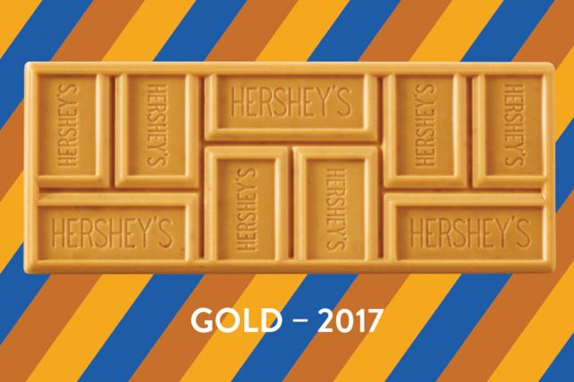 Going for the Gold: Here's The First New Hershey Bar in 22 Years