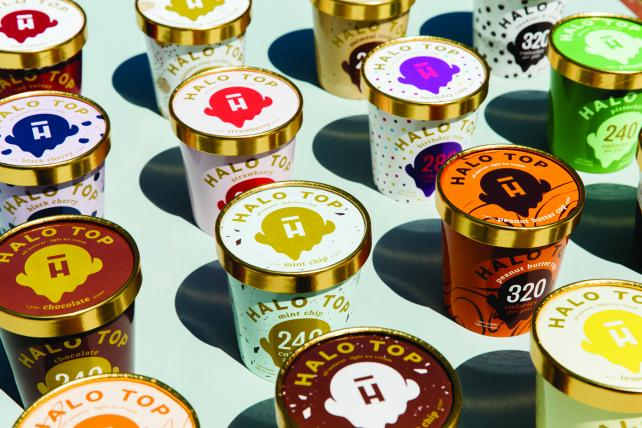 Halo Top is building distribution and fans.