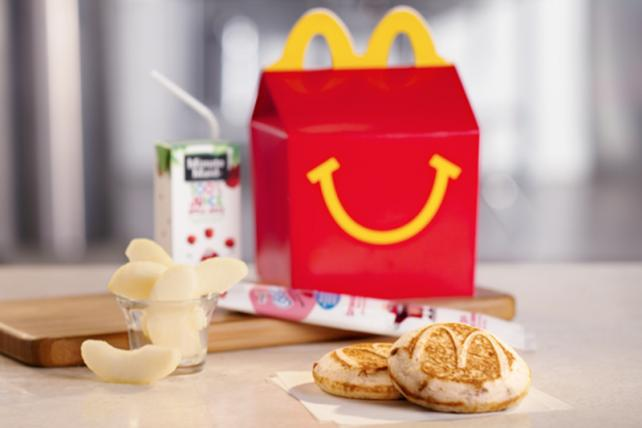 McDonald's is testing breakfast Happy Meals that are available all day, potentially the first big change to Happy Meals in three decades.