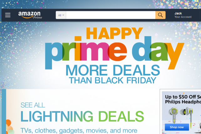 Amazon Projects Prime Day Sales May Lift Q3 Revenue