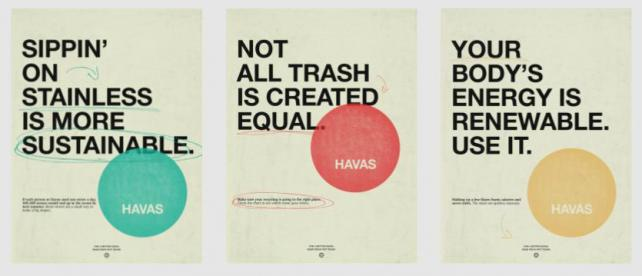 Sustainability posters