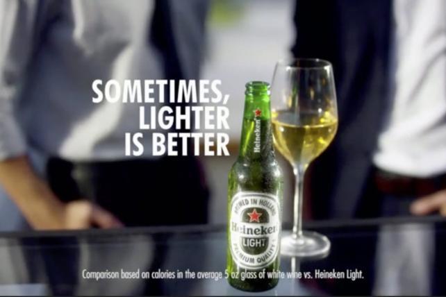 How did this happen? Behind Heineken Light's 'lighter is better' ad mistake