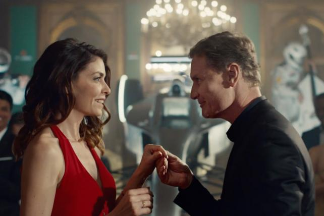 A scene from Heineken's new global campaign.
