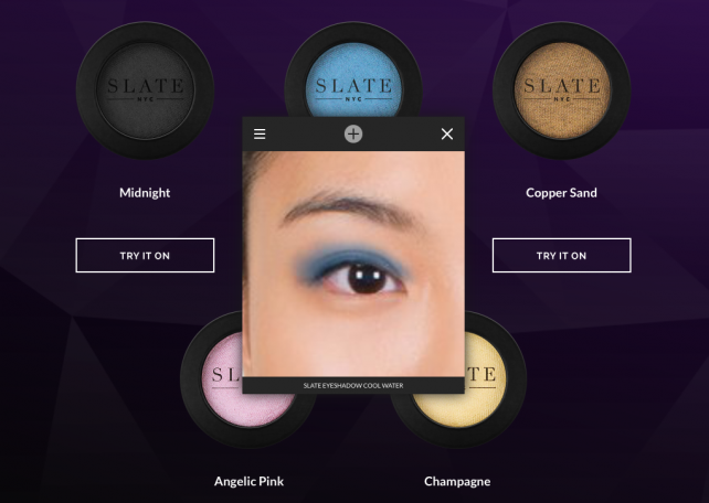 Looking Glass lets people upload photos and try Slate products virtually.