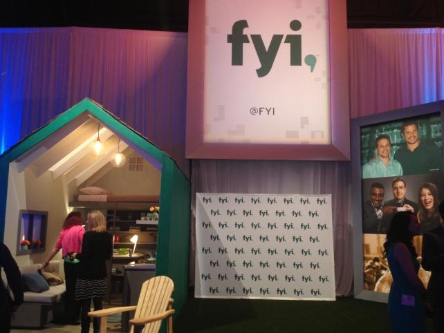 The FYI installation.