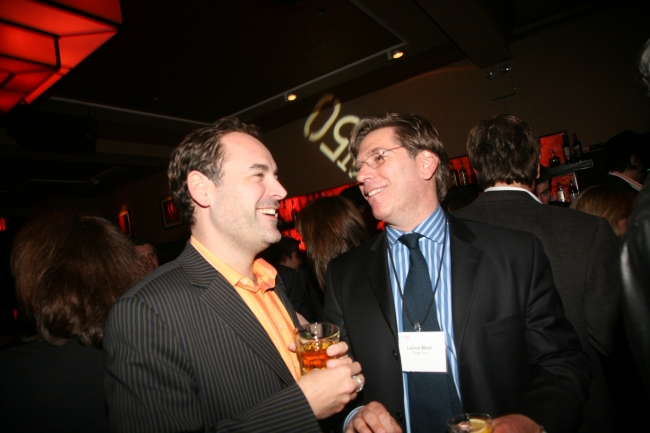 AdAge Group publisher Scott Donaton and Time Warner's Lance Mald