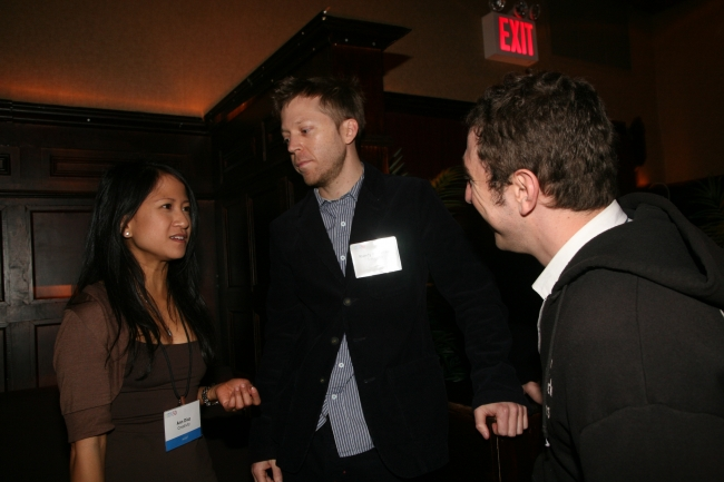 Smuggler's Randy Krallman, Creativity's Ann-Christine Diaz and Epoch's Matt Lenski