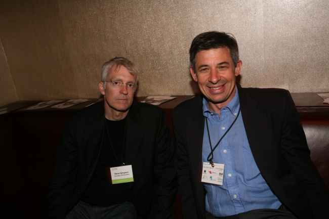 Steve Simpson of Goodby, Silverstein & Partners and HP's David Roman