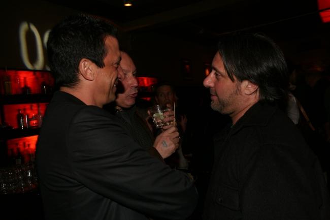 Stavros Merjos and Frank Scherma