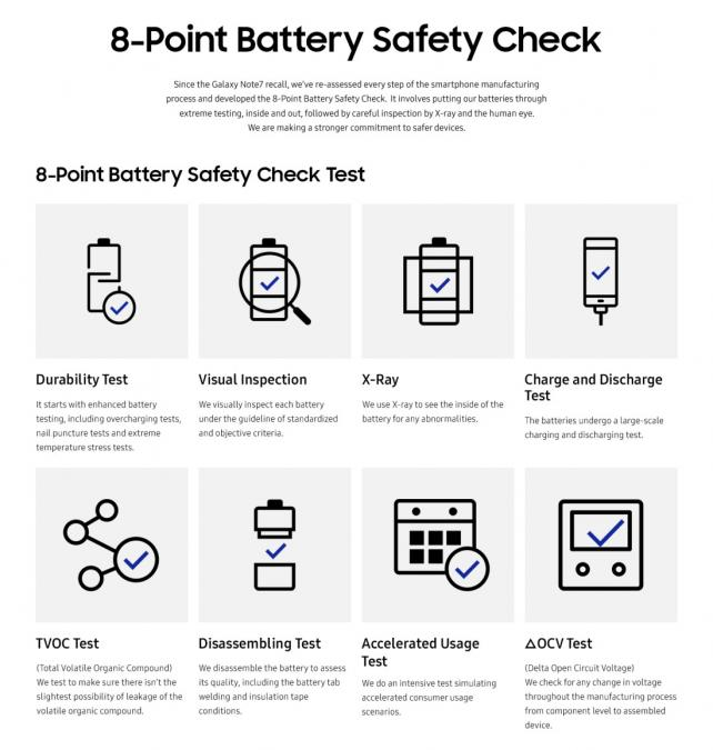 Click to see more of Samsung's safety check on its site.