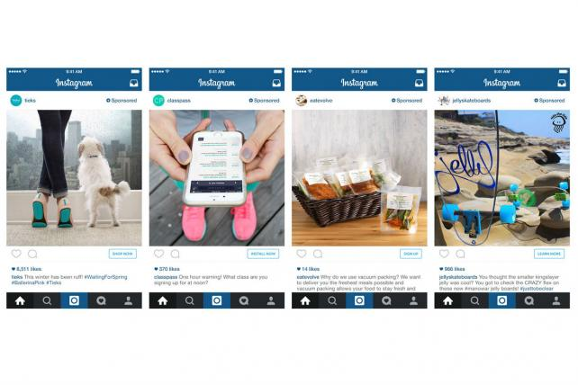 Instagram is adding links to its single-photo ads.