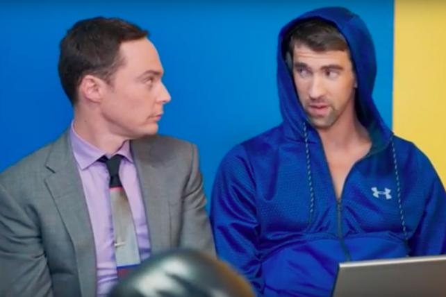 See the Spot: Intel Enlists Michael Phelps to Sink Slow Computers
