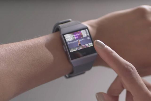 Fitbit takes leap into smartwatch market