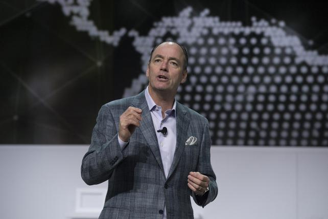 Samsung's Tim Baxter said the company was committed to innovation and moving beyond last year's faulty phones.