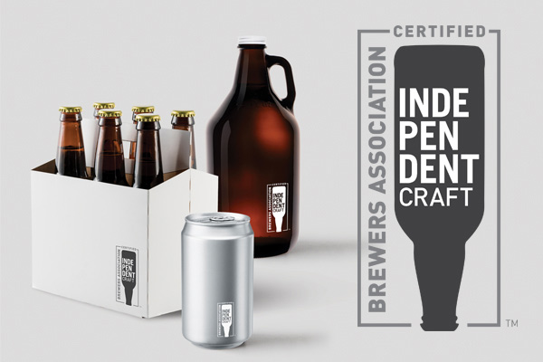 The 'Independent Craft' seal that the Brewers' Association wants smaller breweries to adopt.