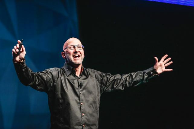 Jeff Charney speaks at the ANA Masters of Marketing Conference