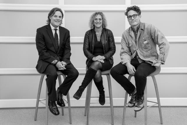 JWT's Simon Pearce, Tamara Ingram and Ben James