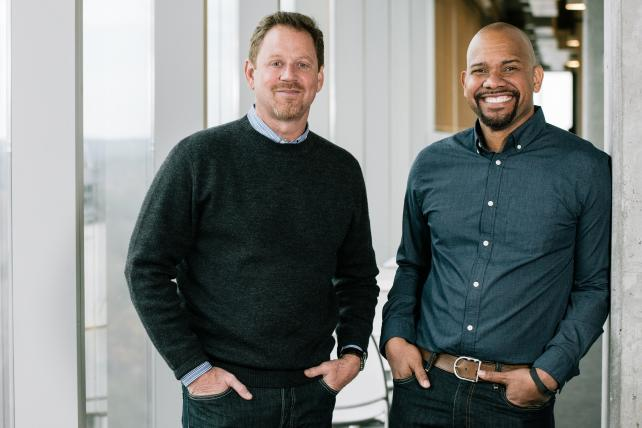 JWT Atlanta CEO Spence Kramer on left and CCO Vann Graves on right