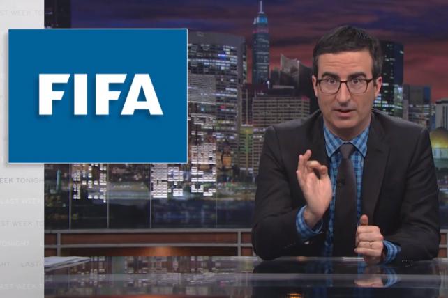 Watch John Oliver's Brilliant, Brutal FIFA World Cup Soccer Takedown