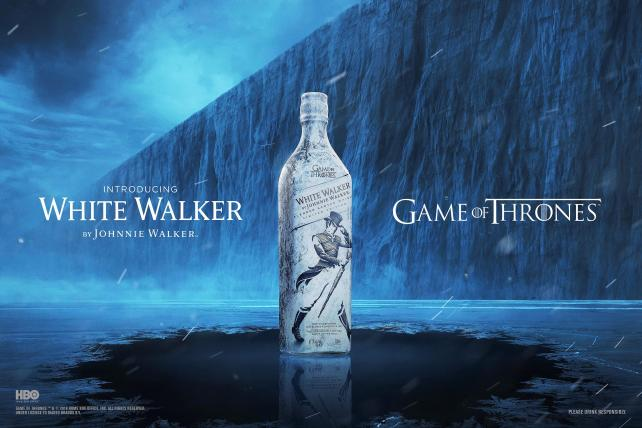 Johnnie Walker unveils 'Game of Thrones' Scotch -- and it's freezing