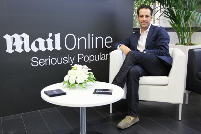 Jon Steinberg, a former BuzzFeed executive, is the CEO for North America at MailOnline.