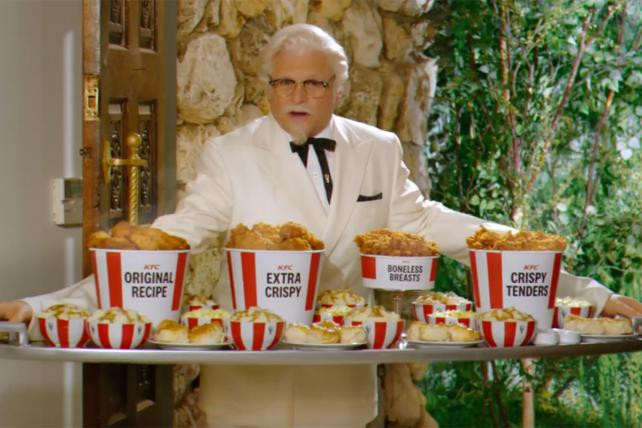 Jason Alexander is the latest KFC colonel in sitcom-style spot