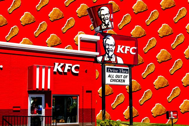 Um, KFC? You're Creeping Us Out as You Reassure Us About Your Chicken Shortage