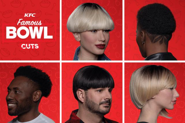 Beauty brands at CES, and KFC brings back the bowl haircut