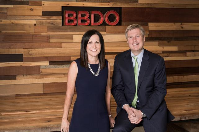 Kirsten Flanik and John Osborn at BBDO New York