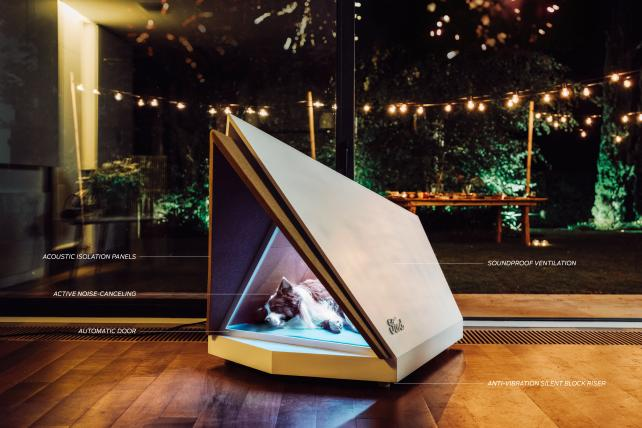 Ford gets PR bang from noise-cancelling dog kennel