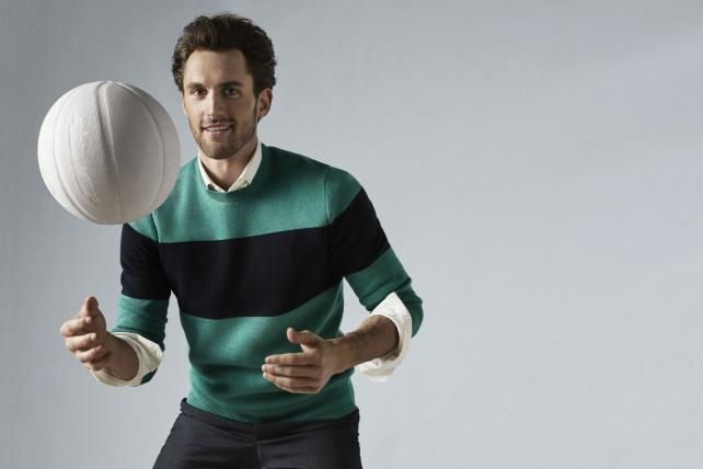 Kevin Love partners with Banana Republic as style ambassador.