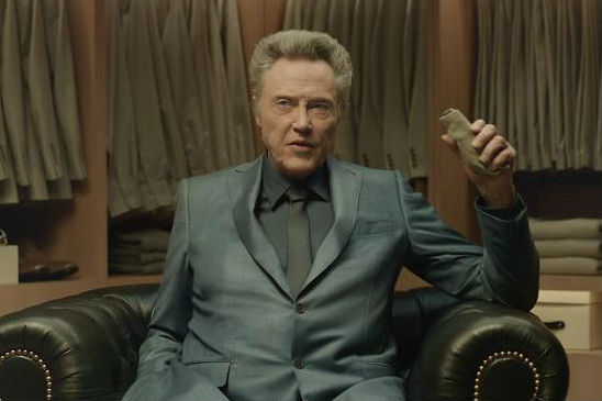 Christopher Walken in Kia's 2016 Kia Super Bowl ad.