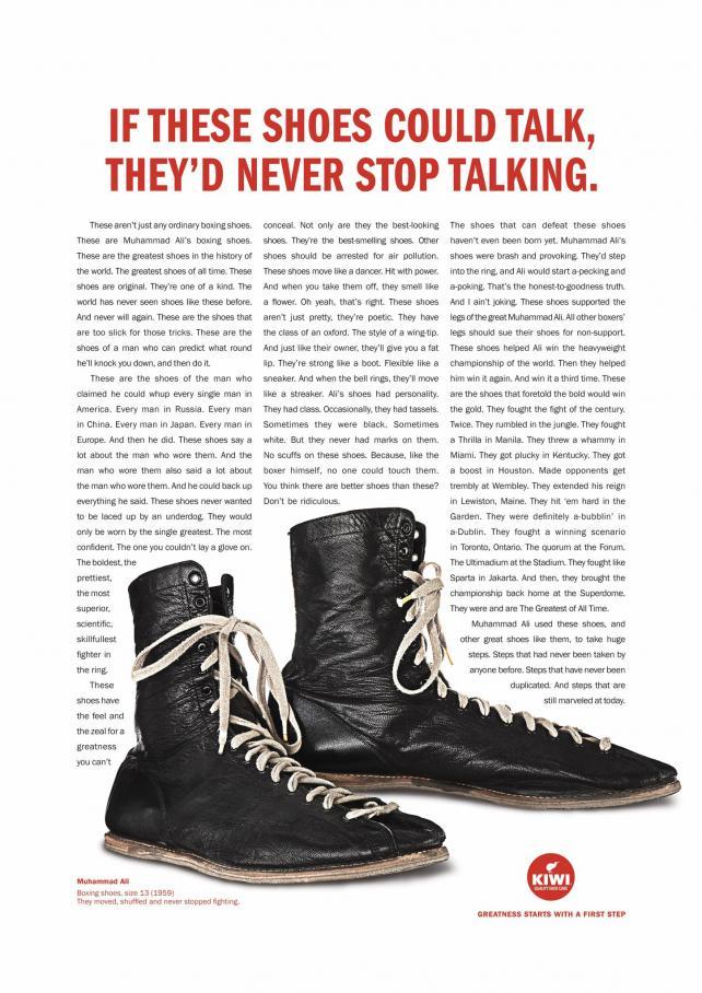 Kiwi Shoe Care: Ali