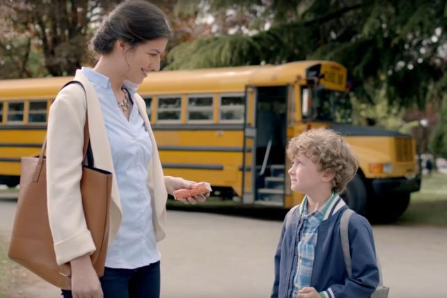 Kleenex's back-to-school campaign
